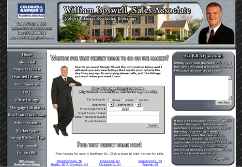 Real Estate Web Designer