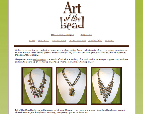 Jewelry Store Web Design