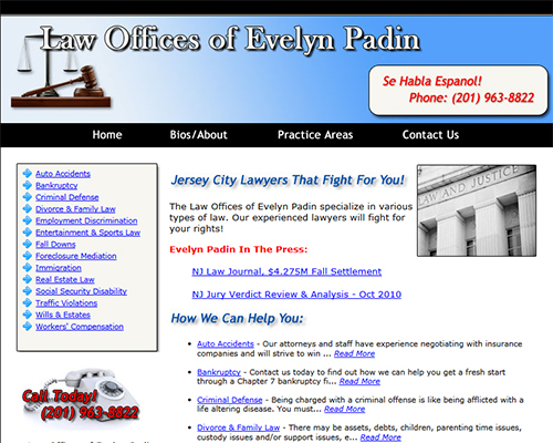 Law Office Web Designer
