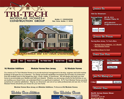 Construction Web Designer